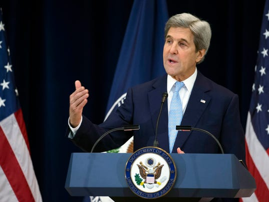 EPA USA KERRY MIDDLE EAST PEACE POL GOVERNMENT DIPLOMACY USA DC