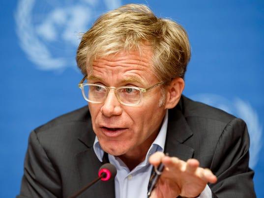 EPA SWITZERLAND UN EBOLA WEST AFRICA POL TREATIES & ORGANISATIONS CHE