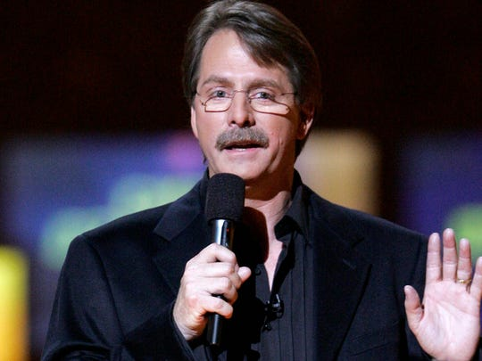 Jeff Foxworthy was the clear winner during his first visit to Pow Wow in 1991.  He returned in 1994.