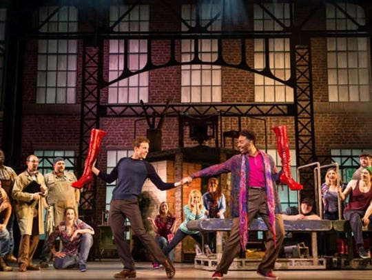 """Kinky Boots,"" Broadway's high-heeled hit, comes to"