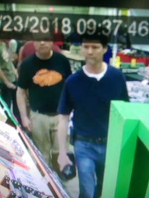 Police are attempting to identify the subjects in these photos regarding a theft that occurred at the York Expo Center during the Gun & Knife Show in West Manchester Township on June 23. Contact Officer Joshua Sefchick at 717-792-9514 or jsefchick@wmtwp.com if you have information.