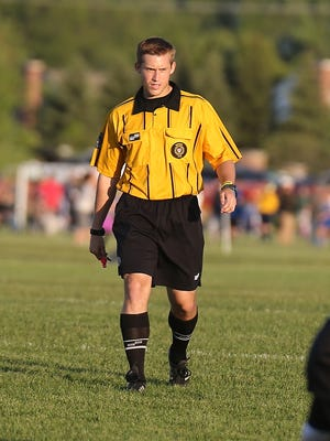 Canton High Schol alum Tyler Winningham already is a veteran referee at the Canton Cup.