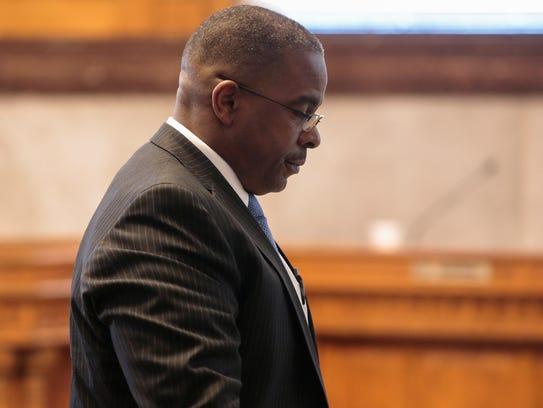 Cincinnati Park Board executive director Willie Carden