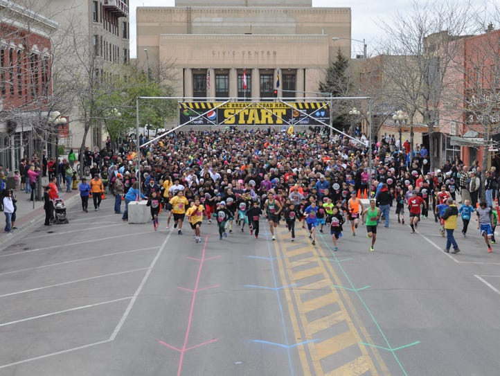 Several races, including Great Falls' Ice Breaker,