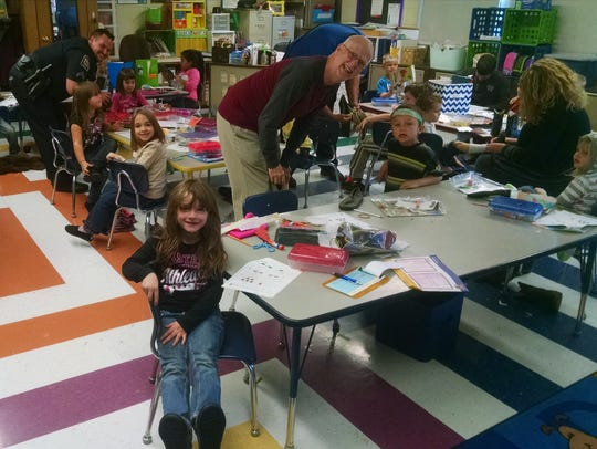 Community and church leaders helped Marionville students