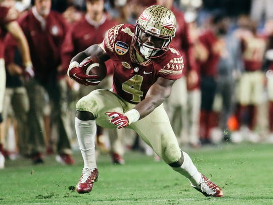 Former Florida State running back Dalvin Cook concluded