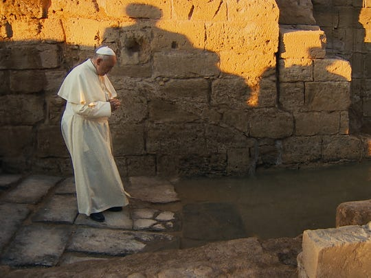 """Pope Francis: A Man of His Word"" is a documentary"