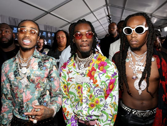 LOS ANGELES, CA - JUNE 25:  Migos at the 2017 BET Awards