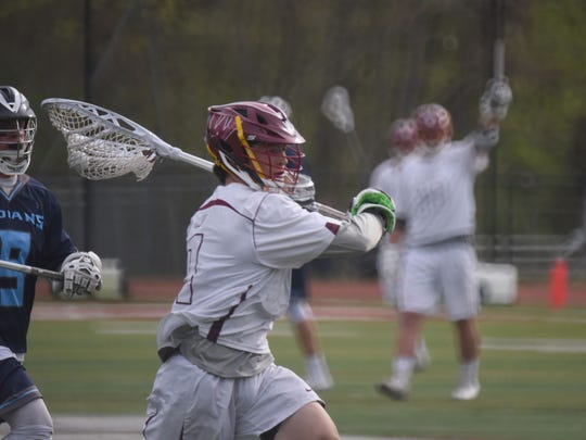 Wayne Hills sophomore Dan Daly (#1) won a Passaic County championship during his freshman season.