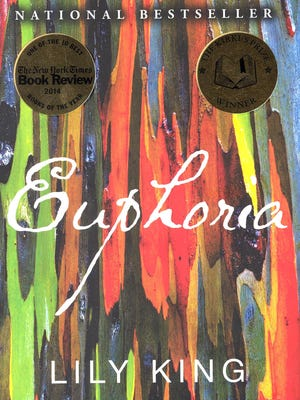 """The cover of Lily King's novel """"Euphoria."""""""