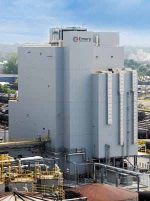 The $50 million expanded plant for Emery Oleochemicals in St. Bernard and Winton Hills, the same site that the chemical company has occupied since 1885.