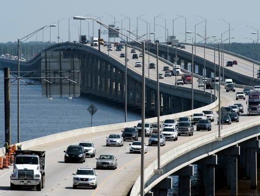 Interstate-10 traffic