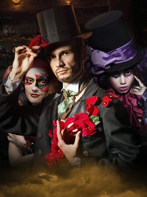 The them of this year's Fantasies in Chocolate is bohemian circus.