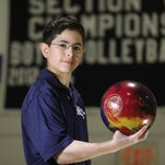 AGR Bowler Cameron Hurwitz works hard to stay above his average