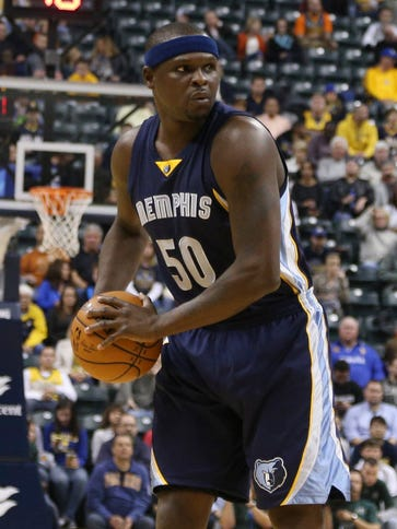 Zach Randolph and the Grizzlies are 2-0 for just the