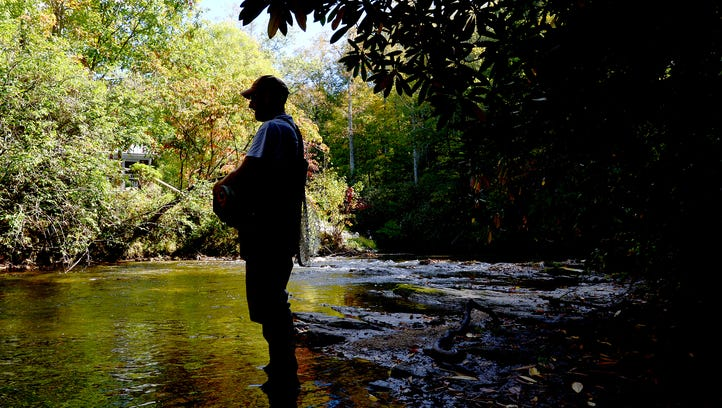 In fly-fishing for trout, 'think like a fish'