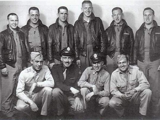 Glenn Kenagy, grandfather of Statesman Journal columnist Capi Lynn, served in the 789th Squadron, 467th Bombardment Group, 2nd Air Division, 8th Army Air Forces during World War II. He is in the back row, second from the right.