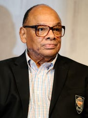 George Raveling was inducted into the Basketball Hall