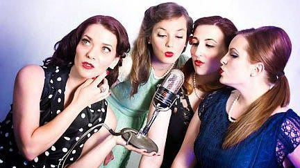 The Laugh Riot Dolls perform their cabaret-style comedy show June 19 at The Mix Studio Theatre in Ypsilanti.