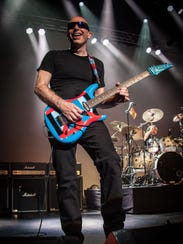Guitar superstar Joe Satriani will be joined by fellow