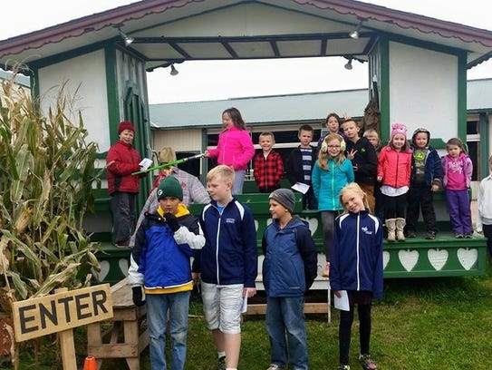 Seehafer Acres also offers tours, hosts a corn maze