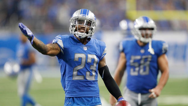 Darius Slay entered this season with 6 career interceptions in 4 seasons, but has an NFL-leading 7 picks this year.