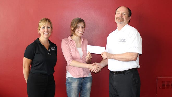 Katelyn Mader was the recipient of the Thomas S. George Architecural Memorial Scholaship.