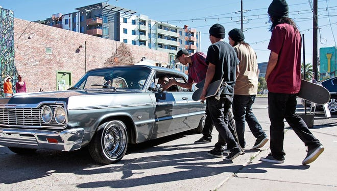 Phoenix photographer Luke Dorsett will speak about the history of lowriders at the Scottsdale Center for the Performing Arts on March 27, 2018.