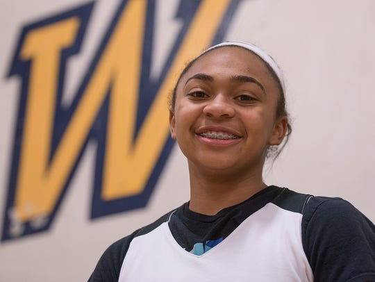 Camree Clegg is all smiles about getting a full-ride