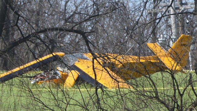 A pilot was injured Tuesday in a rough landing on a Windsor Township field, according to the FAA and York Area Regional Police. The pilot, John Stone, injured his wrist and was later released from the hospital, police said.