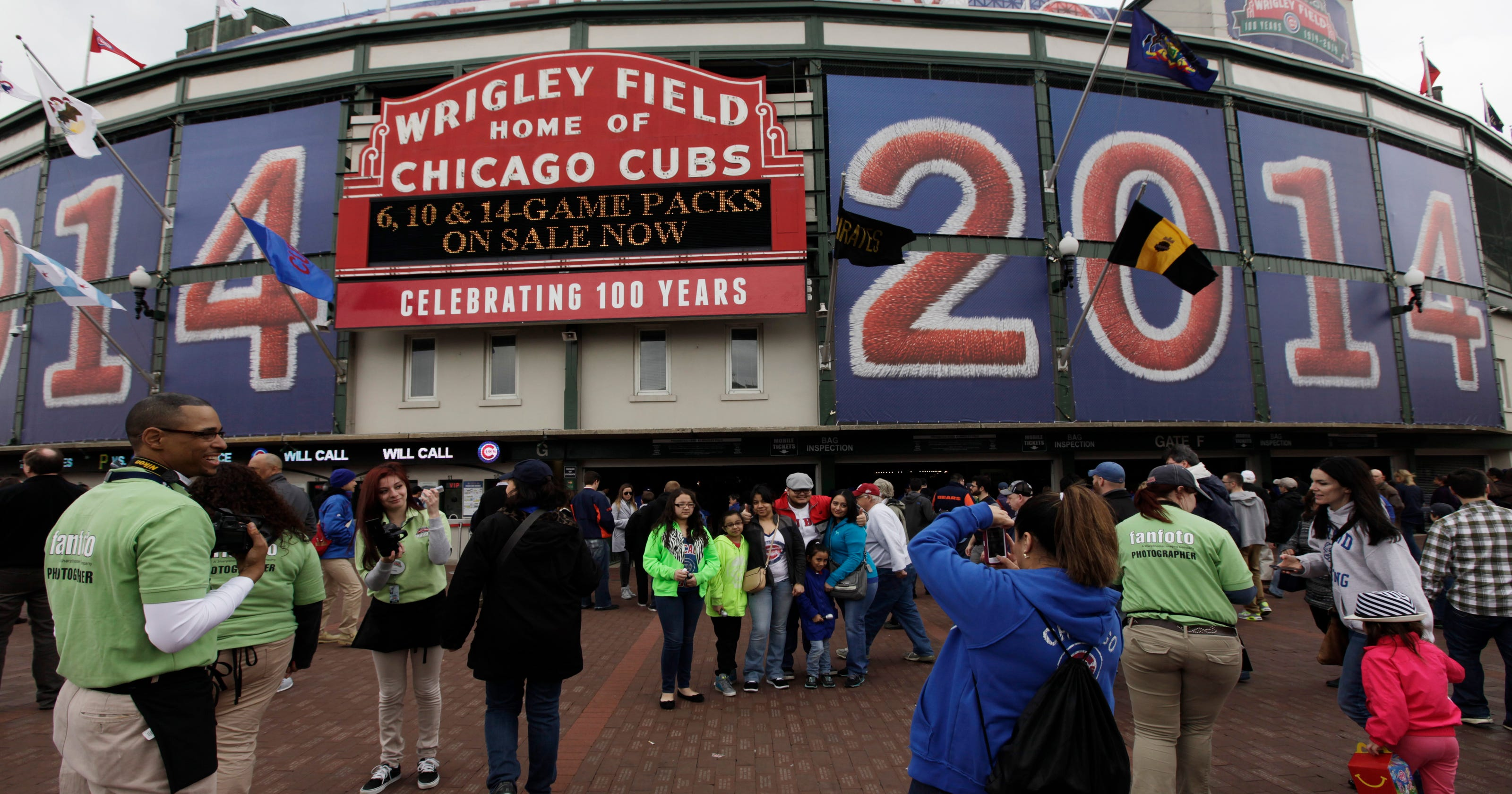 8743fe222fc Wrigley at 100: 'Like Saturday every day'