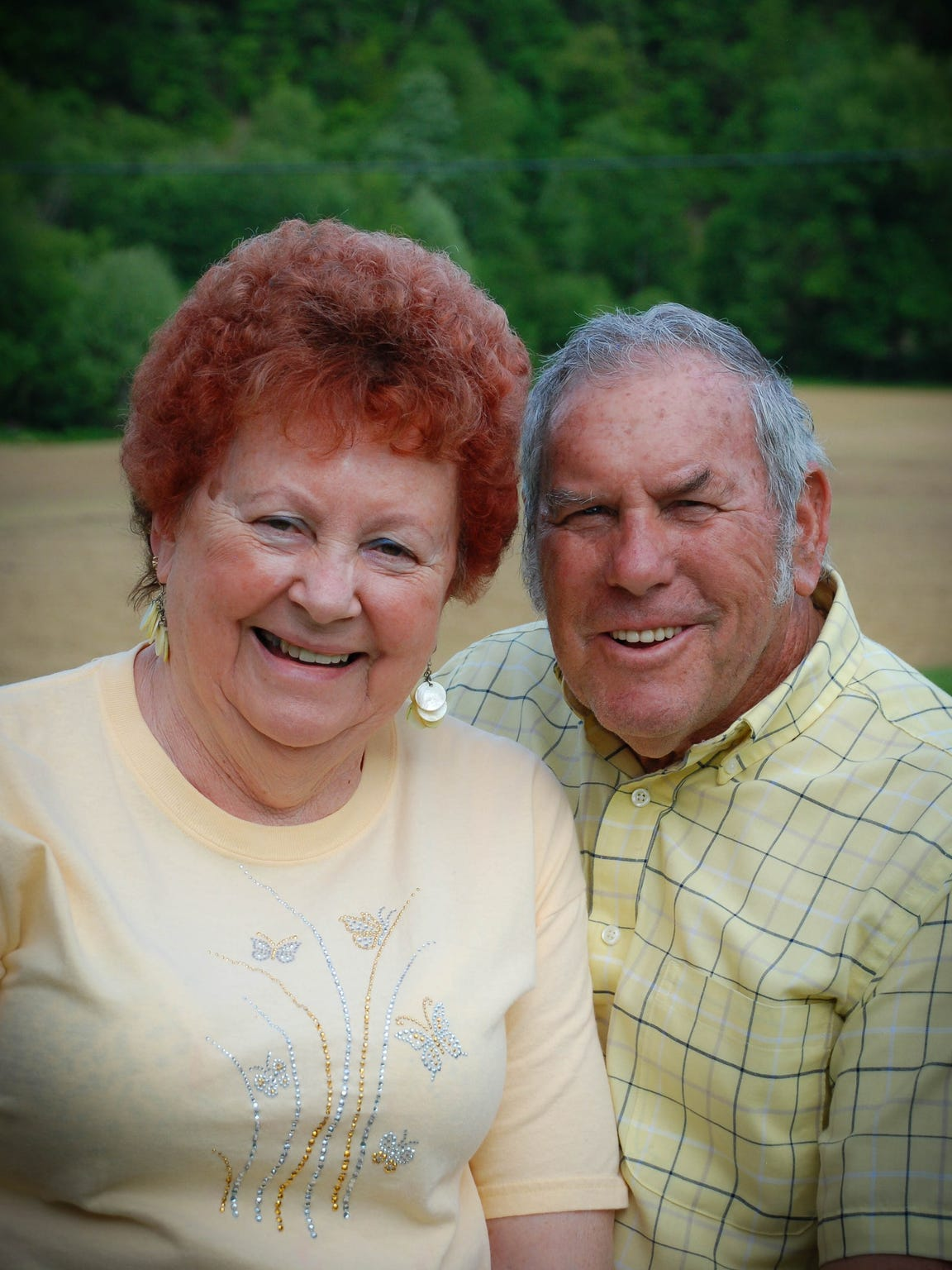 Reba and John Lothes celebrated 60 years of marriage in August 2015.