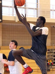 Abdou Ndiaye, a 6-foot-8 Division I prospect who recently