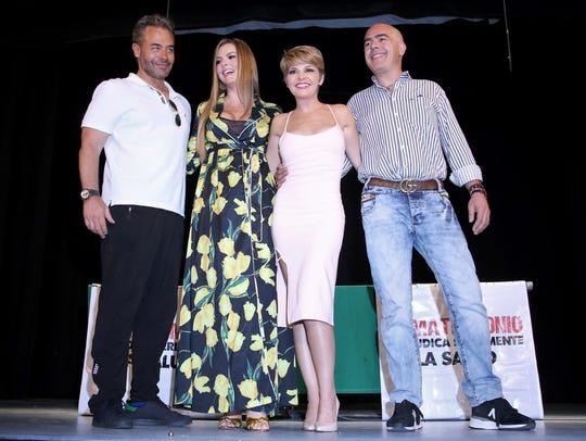 Marjorie hará teatro junto a Sergio Sendel e Itatí