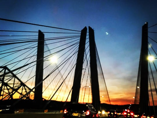The Gov. Mario M. Cuomo Bridge was the first spot along the state Thruway to see a toll-fine increase.