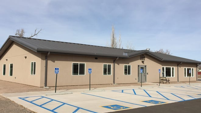Carrizozo's Zia Senior Center has plenty of handicapped parking. A spacious parking lot also allows parking for other seniors who congregate to dine, play bridge, exercise and participate in activities offered by the center.