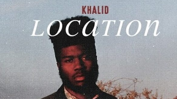 The cover art for hip-hop/R&B singer Khalid's single