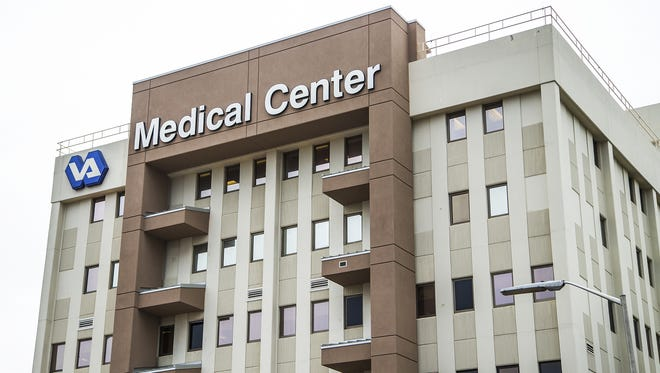 This is the Carl T. Hayden VA Medical Center at 7th St. and Indian School Road in Phoenix.