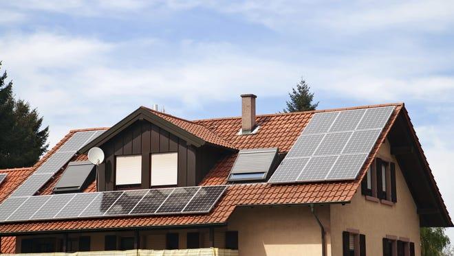 Solar panels are getting cheaper and cheaper.