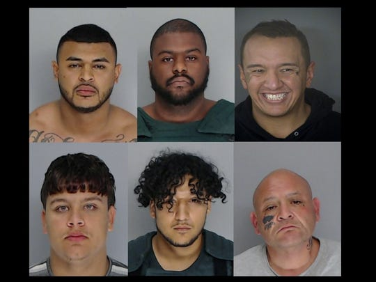 Robert Angel Lopez Jr., Jordan Gosson, Ismael Castillo,Trebor Wheeler, Ausencio Acosta and Adrian Olivarez have been arrested on suspicion of murder.