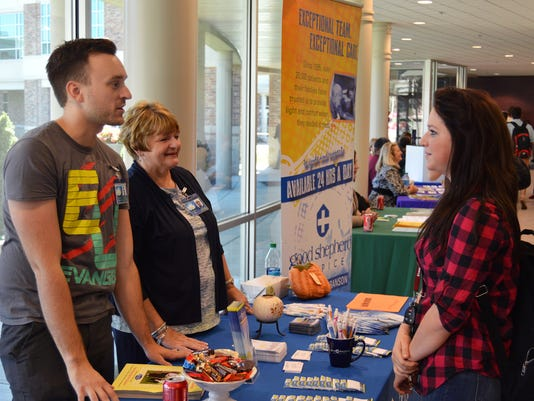 2014-09.29 Volunteer Fair, Andrew Hanks.JPG