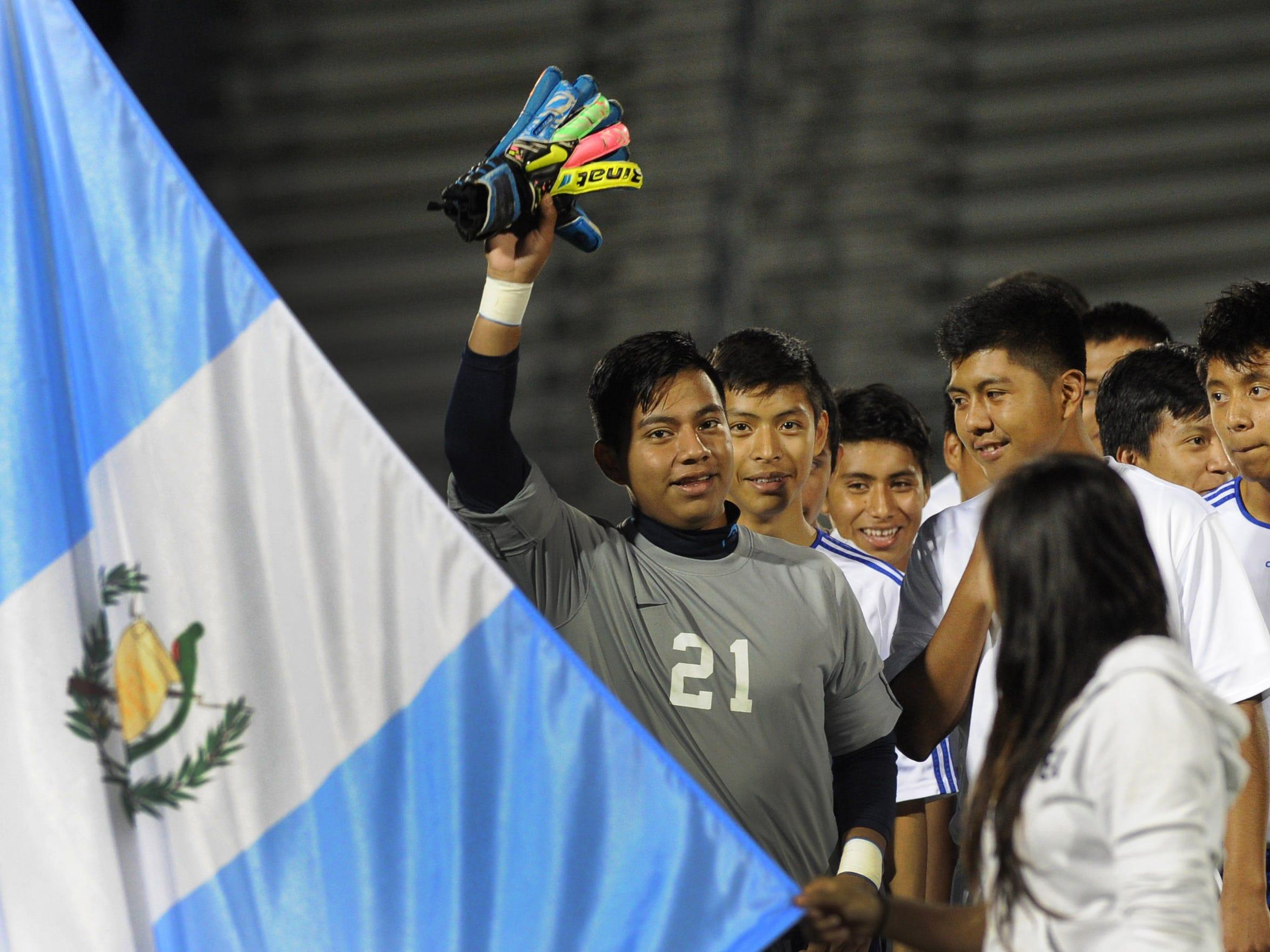 Soccer night - Guatemala