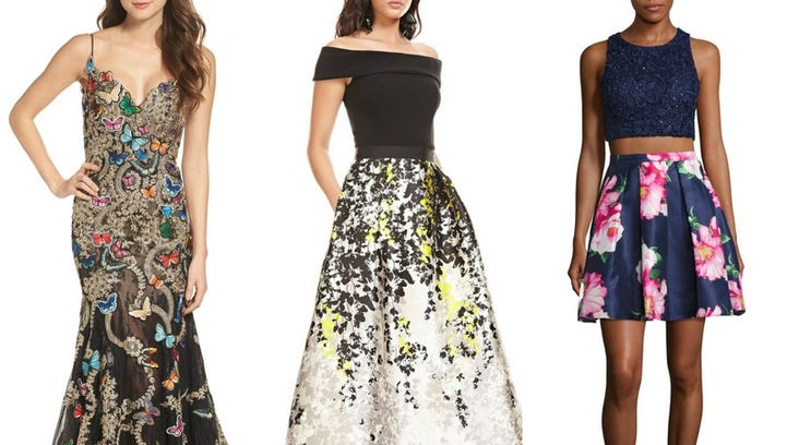 Prom season is here, and so are spring's hottest trends.