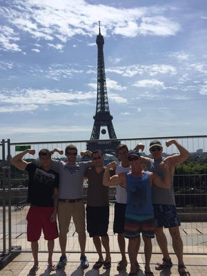 Ron Hopkins of Geist is vacationing in France with hree sons and two friends. They witnessed the terror attacks in Nice on Thursday.