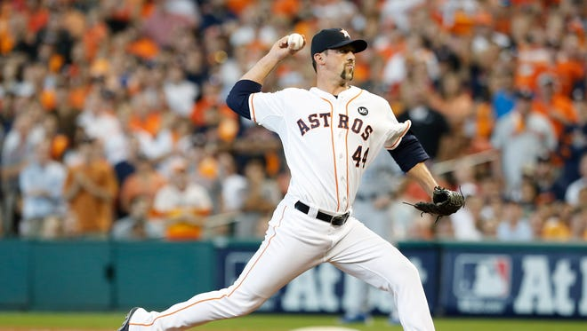 Houston Astros relief pitcher Luke Gregerson will remain the team's closer.