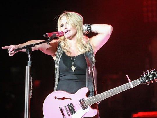 "Friday Aug. 9, 2013, Miranda Lambert brought her ""Locked and Loaded Tour"" to Klipsch Music Center."
