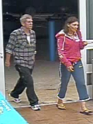 Fort Myers police are looking for this couple who used stolen credit cards to purchase goods at two Wal-Mart stores in Cape Coral.