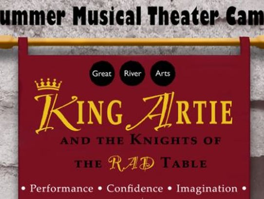 """Great River Arts hosts """"King Artie and the Knights"""