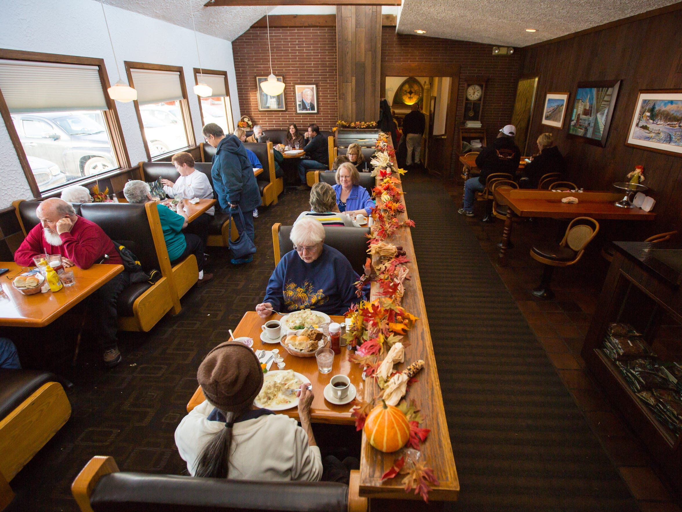 Riefe's in Davenport photographed Tuesday, Nov. 24, 2015. The restaurant will be closing this month after 66 years in business.