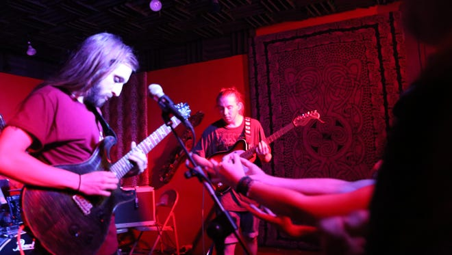 Sleep Dealer performs at Jazzy Java Rock 'n' Roll Grill on Aug. 6, 2016.